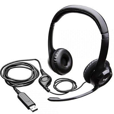 HEADSET ESTEREO USB LOGITECH  H390
