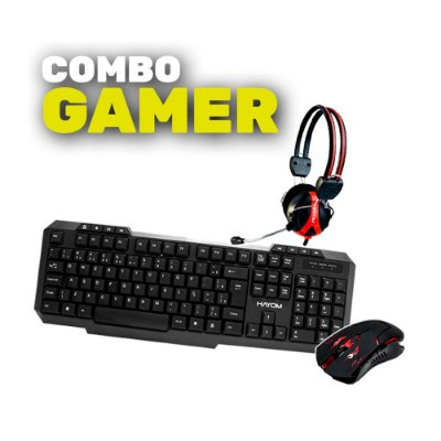 COMBO GAMER - TECLADO TC3219+MOUSE MU2910+HEADFONE HF2209