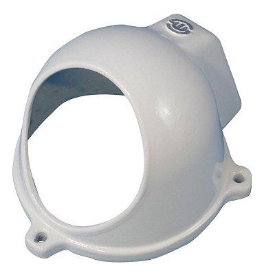 Protetor de Camera Dome de Aluminio C/ Acoplamento Branco