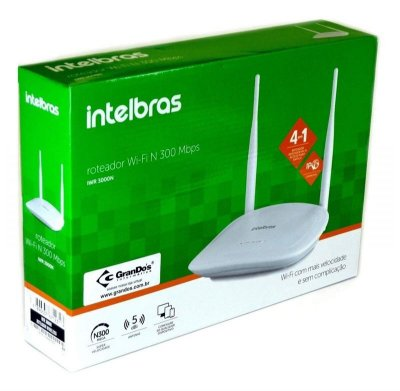 ROTEADOR WIRELESS IWR 3000N 300MBPS