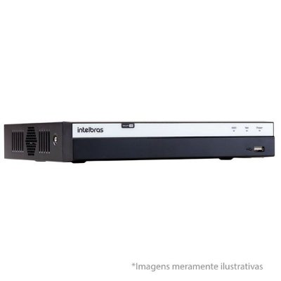 MHDX 3004 - DVR DE 4 CANAIS - S/ HD - INTELBRAS
