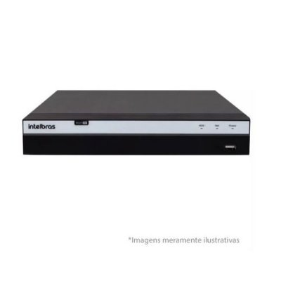Gravador Digital De Video Dvr Intelbras 08 Canais Mhdx 3108 série 3000
