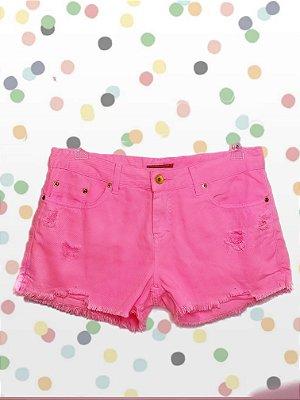 Short Jeans Pink Le Lis Blanc