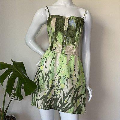 Vestido Verde Farm