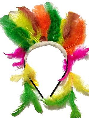 Tiara Carnaval Cocar Indígena