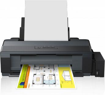 EPSON L1300 A3 ECOTANK com 500ml de Tinta Original Inktec corante