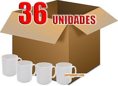 Caixa de Caneca para Sublimação - CANECA SUBLIMÁTICA - 36 UNIDADES AAA