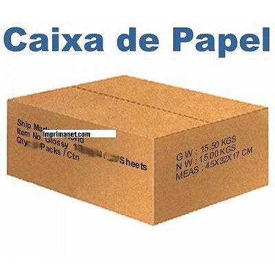 Caixa de Papel Fotográfico Brilhante 115gr A4 (1000 folhas)