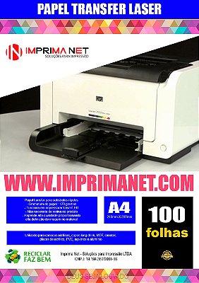 Transfer para impressora laser  100 folhas 120gr ( long drink e outros )