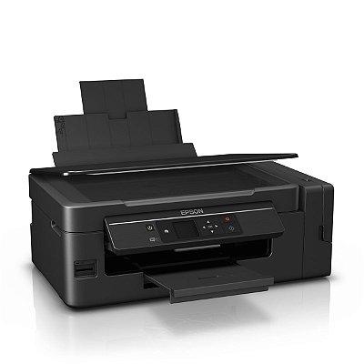 Impressora EPSON L495 ECOTANK  WIFI com 520ml de Tinta Original Inktec corante ( Substituta da EPSON L375 )