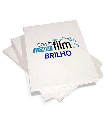 Papel Transfer OBM BRILHANTE CETIM A4 para personalização de tecidos escuros ( algodão e poliéster ) - 5 folhas