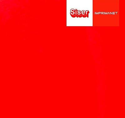 P. S. Filme de recorte vermelho vivo - siser - ( 1mt x 50cm ) - A0028