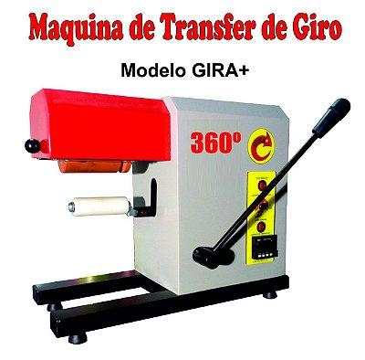 Prensa de Transfer Giro 360º para confecção de long drinks e muito mais - 1 ano de garantia no DF