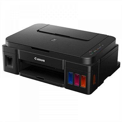 impressora CANON G3100 multi-funcional tanque de Tinta. Com 130ml de cada cor da marca Sarbo