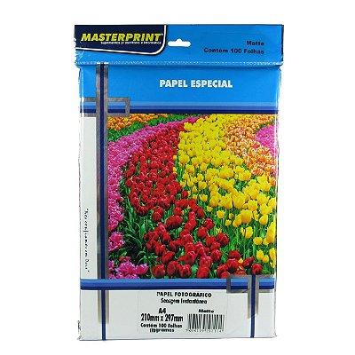 Papel Matte Fosco A4 170gr MasterPrint - Pacote com 100 folhas