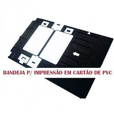 Bandeja para impressão de cartão de PVC para impressoras EPSON R290, T50 e L800