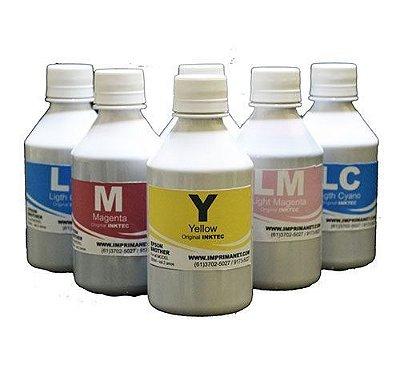 Tinta Original InkTec para impressora EPSON / Brother (Corante) Proteção UV - frasco de 300ml
