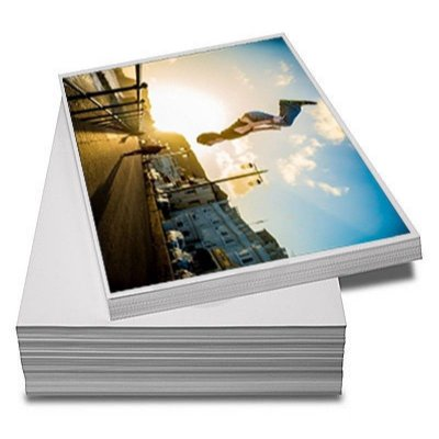 Papel fotográfico A3 230 gr a prova d'água brilhante - 20 folhas