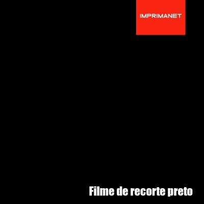 Filme de recorte Power PRETO