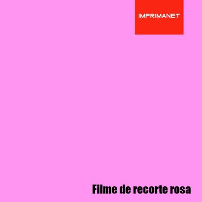 Filme de recorte Power ROSA