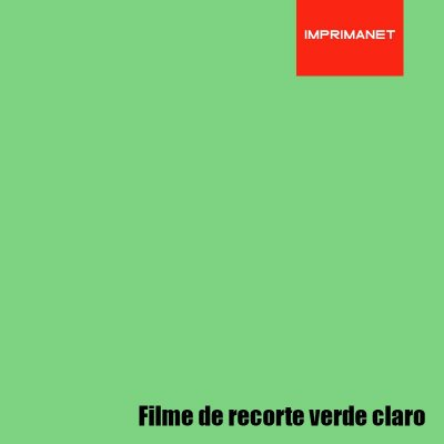 Filme de recorte Power VERDE CLARO