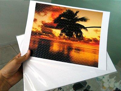 Papel fotográfico 180gr glossy 3D PONTILHADO holográfico a prova d'água - pacote com 20 folhas