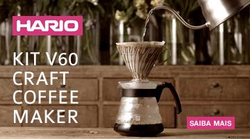 Kit V60 Craft Coffee Maker - Hario