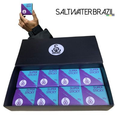 PACK DE 8 SUPER STICKY SALT WATER BRAZIL  Winter Times