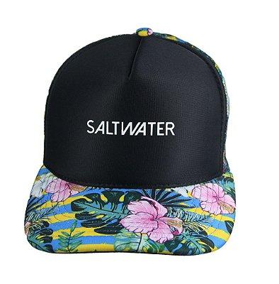 Boné Trucker - Floral - Salt Water Brazil