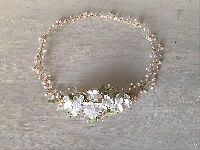 Headband flor de Laranjeira