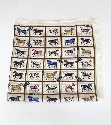 Lenço Cavalos