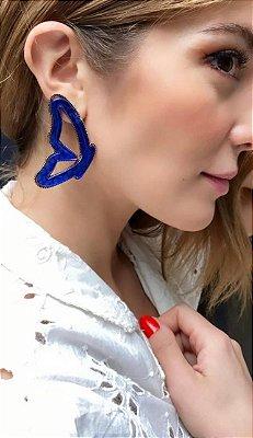 Brinco Borboleta Azul Gio Bernardes
