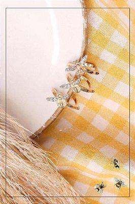 Piercing Abelha Dourado