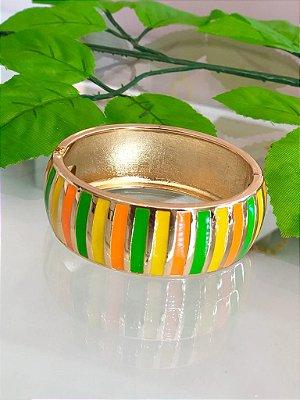 Bracelete Listras Coloridas