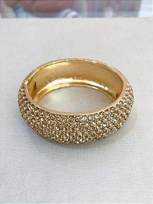 Bracelete Cravejado Em Zircônias