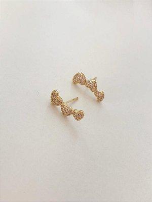 Mini Ear Cuff Coração