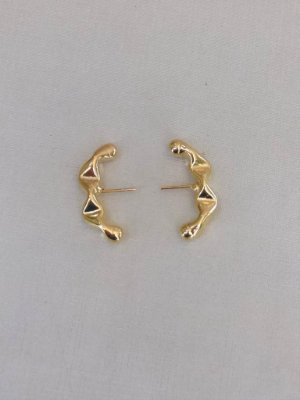 Ear Hook Menor Dourado