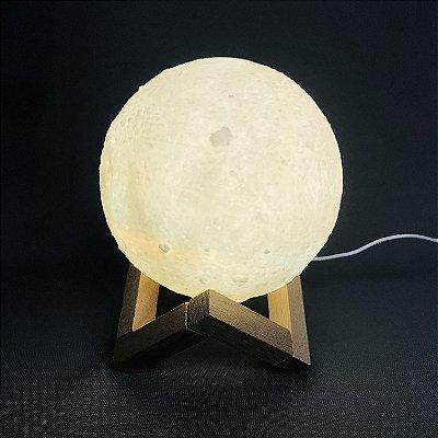 Umidificador de Lua 3D