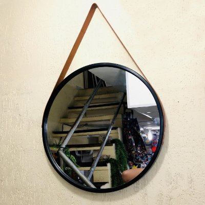 Espelho Redondo Decorativo de Parede