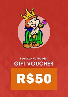 Gift Voucher - R$ 50