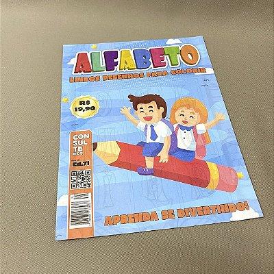 Revista Colorir Alfabeto
