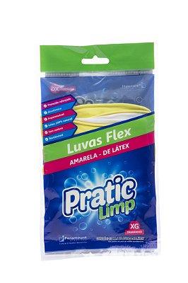 Luvas Flex Látex Paramount Pratic Limp