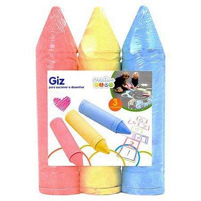 Giz Colorido Creative kids