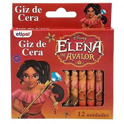 Giz de Cera Disney Elena de Avalor 12 cores