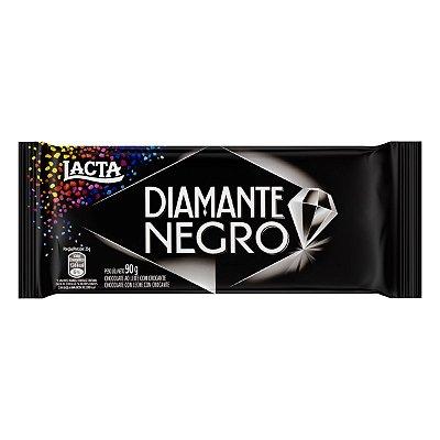 Barra de Chocolate Diamante Negro LACTA 90g