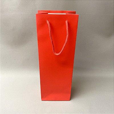 Sacola de Presente Vermelha 36cm
