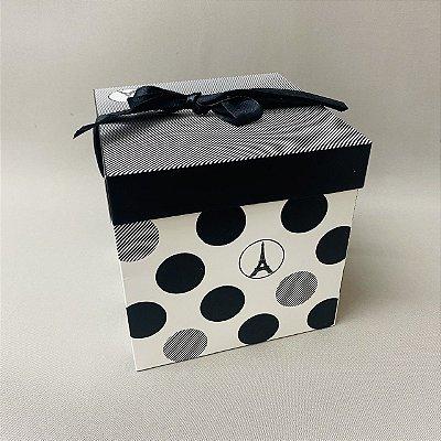 Caixa Para Presente Paris 15cm
