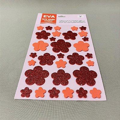 Adesivo Decorativo E.V.A. Gold Powder Sticker