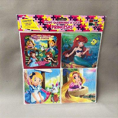 Livro Quebrando A Cuca Princesas - Alice, Oz, A Pequena Sereia, Rapunzel