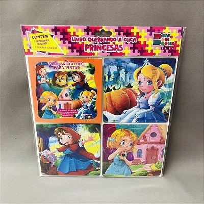 Livro Quebrando A Cuca Princesas - Cachinhos, Chapeuzinho, Cinderela, Oz